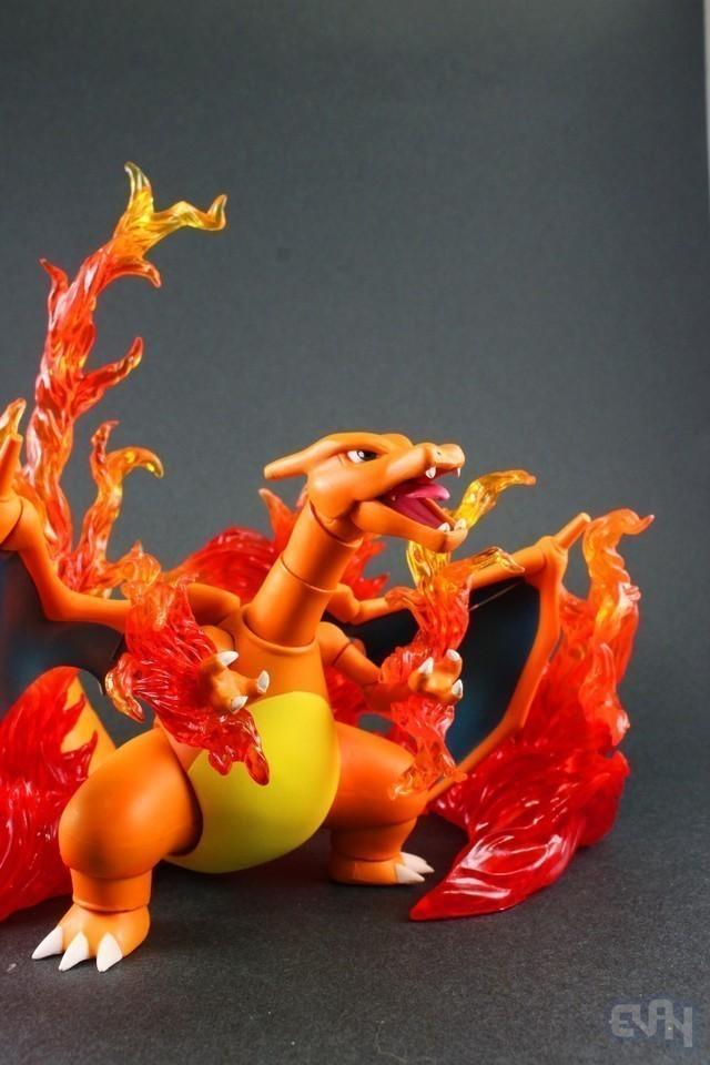 【玩具人。Evan。投稿】神奇寶貝 Pokémon D-Arts 初代人氣度滿點 噴火龍