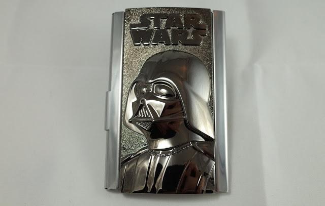 [開箱] Star Wars 星際大戰黑武士名片盒 Business Card Holder Review