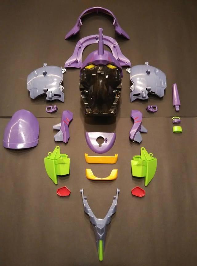 【玩具人Kam Andrew Tse投稿】福音戰士初號機爆谷桶 重塗版