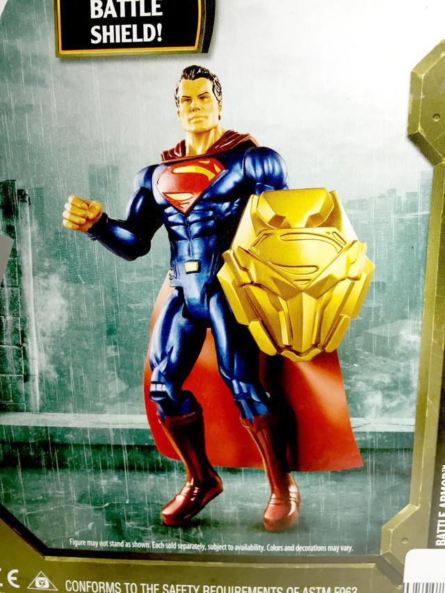 【玩具人Cookie's Toys Guy投稿】蝙蝠俠對超人:正義曙光 6寸 開箱與改造