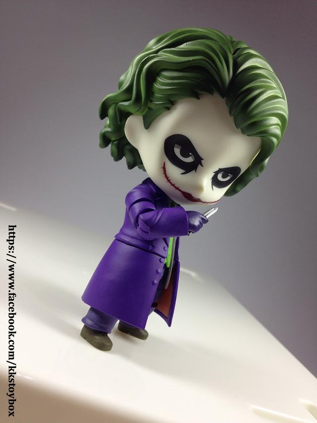 【玩具人KK玩具箱投稿】黏土人 JOKER 小丑開箱分享