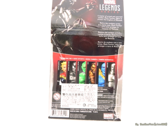 【玩具人馬馬投稿】Marvel Legends 3.75吋 黑豹 Black Panther分享