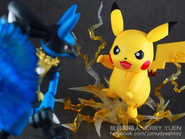 【玩具人。Jerry Yuen。投稿】S.H.Figuarts Pokemon - Pikachu 開箱分享