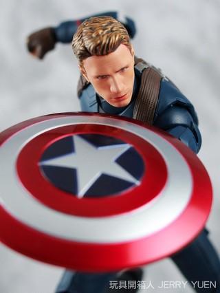 [開箱玩評] S.H.Figuarts Captain America -Civil War-