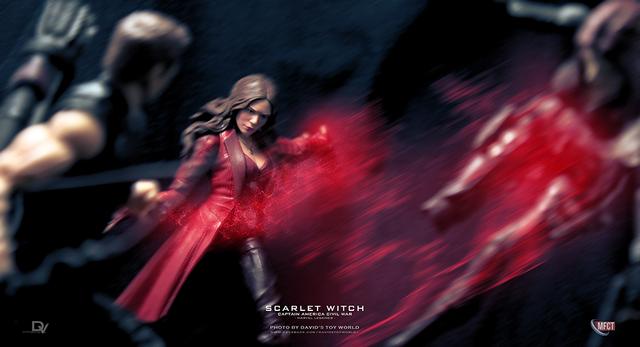 【玩具人。David Chang。投稿】孩之寶 Marvel Legends 英雄內戰 緋紅女巫 / SCARLET WITCH 開箱分享