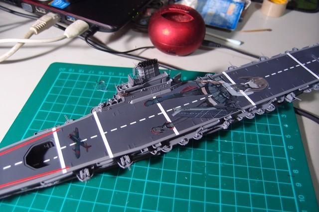 Fujimi フジミ 富士美 1/700 大鳳 乳膠甲板 艦隊Collection Version.