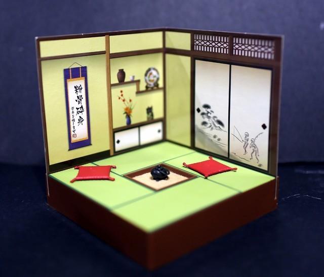 【玩具人白色猴子投稿】Pose Skelton 和室場景組開箱