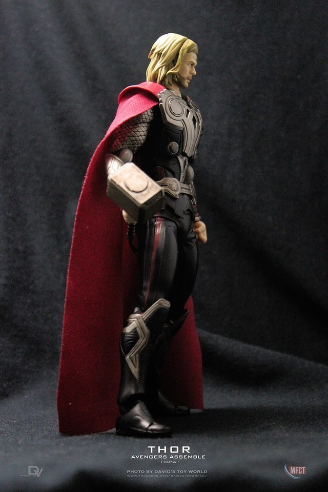 【玩具人。David Chang。投稿】Figma 雷神索爾 /Thor 復仇者聯盟一版本.開箱分享