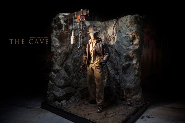 THE CAVE 1/6洞穴情景地台