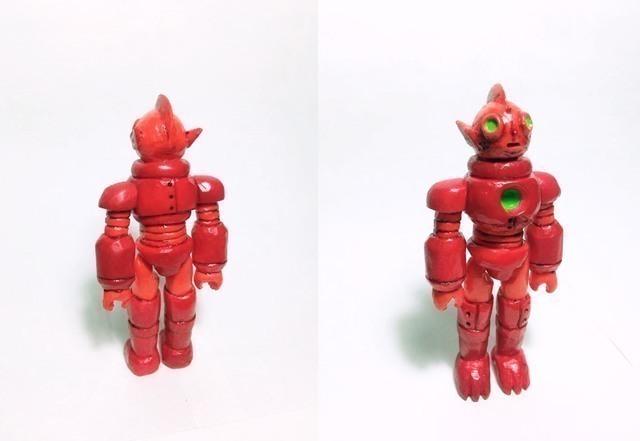Neon Saga系列藝術玩具創作-Mojo 霓虹星人