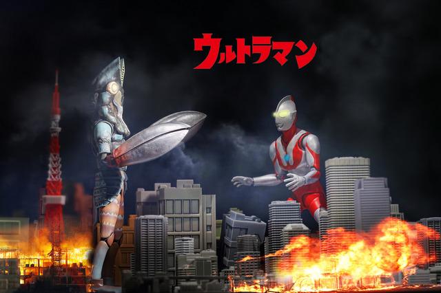 S.H.Figuarts 超人力霸王 奧特曼 Ultraman & 宇宙忍者 巴爾坦星人 寫真