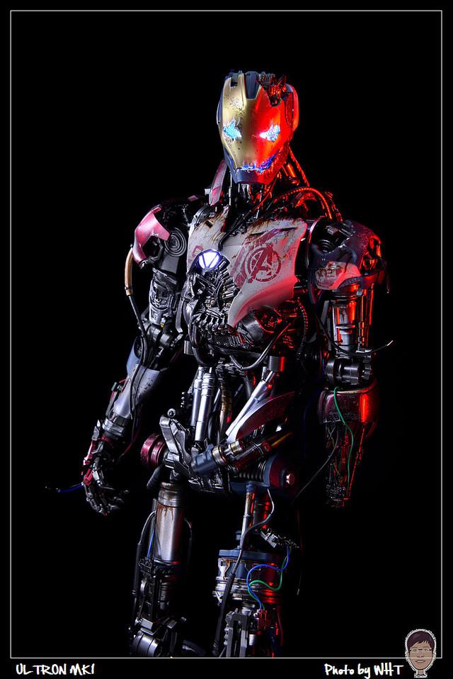 【開箱】Hot Toys - ULTRON MK1 奧創 MK1