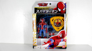 【玩具人。Cookie's Toys Guy。投稿】 復仇者聯盟:光盤戰爭 Disc Wars 3.75吋 蜘蛛人