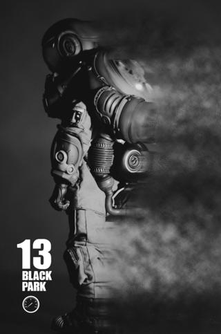 BLACK13PARK :暗夜航天組•貓 開箱評測