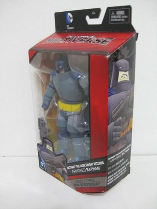 【玩具人李志浩 投稿】DC黑暗騎士歸來 重裝甲蝙蝠俠