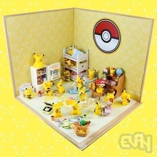 【玩具人。Evan。投稿】Pokémon 神奇寶貝 玩具公仔 日常情境生活隨意拍 Part 3!