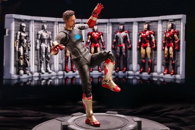 【玩具人楊書偉投稿】S.H.Figuarts Tony Stark 東尼 史塔克 & Iron Man Mark 42 寫真