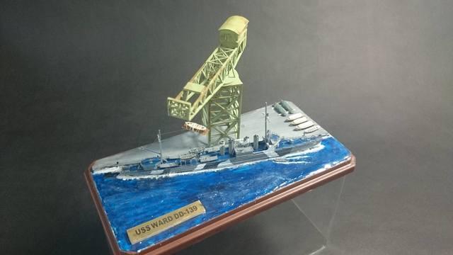 是誰打響了太平洋戰爭的第一砲 U.S.S NAVY Destroyer WARD 沃德號場景製作