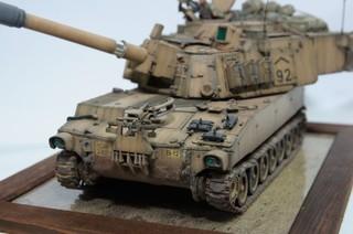 【玩具人。akdsy。投稿】M109A6 沙漠迷彩