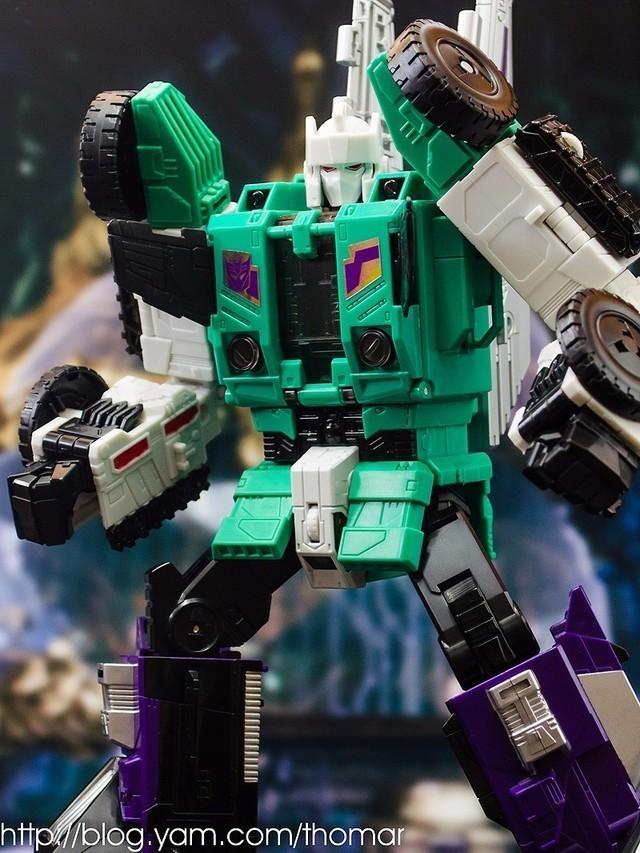 【玩具人。Thomar。投稿】HASBRO TITANS RETURN - LEADER CLASS - SIX SHOT 六面獸