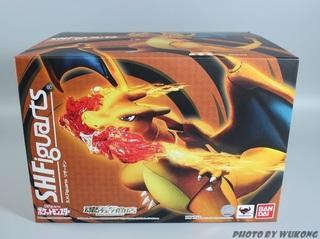 【玩具人。貪玩悟空。投稿】S.H.Figuarts 精靈寶可夢 噴火龍 開箱分享