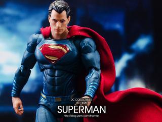 【玩具人。Thomar。投稿】DC Collectibles 蝙蝠俠對超人:正義曙光 SUPERMAN 超人