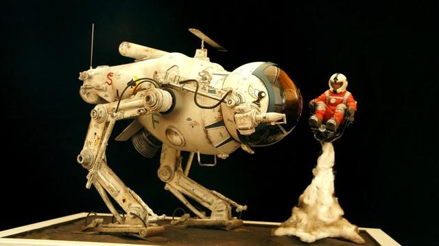 【玩具人。閔哥 。投稿】橫山宏 1/20 比例 Ma.k Camel 太空戰術偵察機 製作分享