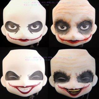 玩具人Goosefish投稿[Gf 胖宅塗裝]ねんどろいど ジョーカー ヴィランズ・エディション 黏土人Joker