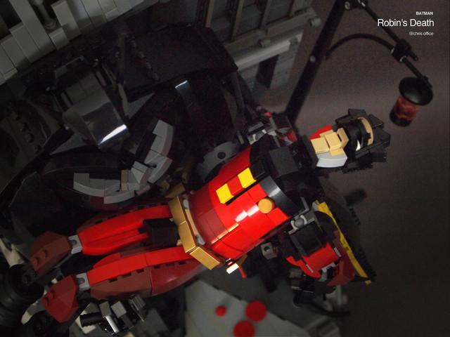 【玩具人。Chris Yu。投稿】羅賓之死 Robin's Death 樂高創作