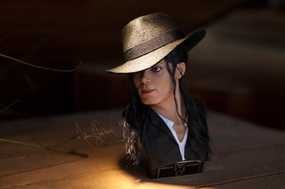 【玩具人。Jungle Chen。投稿】麥可.傑克森 Michael Jackson 1/3 比例半身胸像 開箱分享