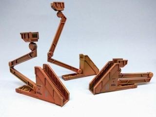 【玩具人。Kam Andrew Tse。投稿】1/144 MS HANGER 鋼彈基地 格納庫製作分享