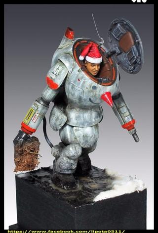 【玩具人。李胖達。投稿】Ma.K SNOW MAN 1/20 比例 改造分享