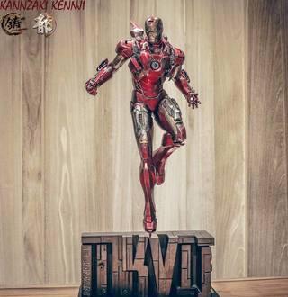 【玩具人。Kennji Kamizaki。投稿】XM Studios® 1/4 比例 鋼鐵人馬克7 Iron Man MK7