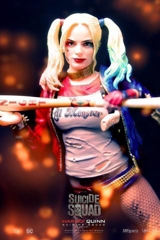 【玩具人。David's Toy World。投稿】S.H.Figuarts 小丑女.Harley Quinn .開箱分享