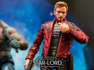 HASBRO MARVEL LEGENDS GUARDIANS OF THE GALAXY VOL. 2 STAR-LORD 星爵