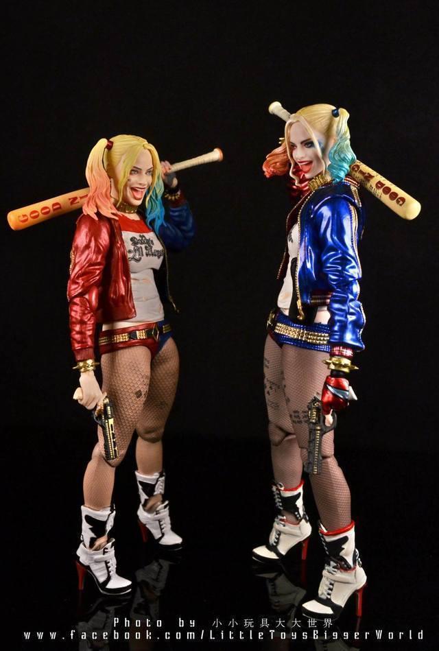 【小小玩具大大世界。投稿】[玩評] Mafex 033 Harley Quinn 哈莉·奎茵/小丑女 (Suicide Squad)
