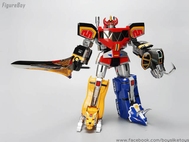 BANDAI 超合金魂 GX-72 恐龍戰隊獸連者 大獸神 金剛戰士 金剛戰神