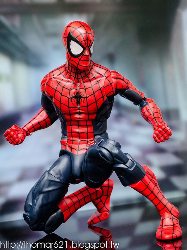 玩具心得:HASBRO MARVEL LEGENDS 2016 12 INCH ACTION FIGURE SPIDER-MAN 12吋 蜘蛛人