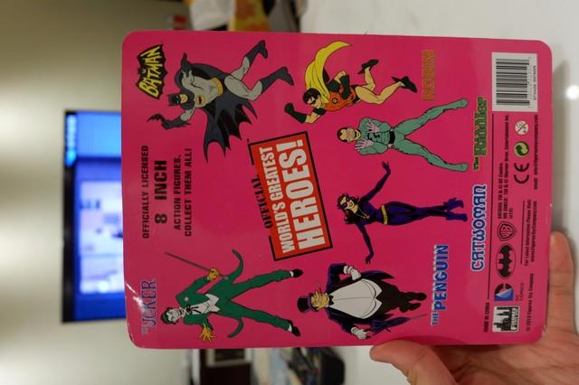復古蝙蝠俠玩具 World's Greatest Heroes Series 1 Batman Action Figure