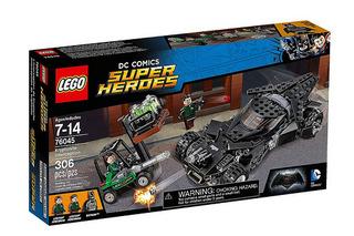【完整官圖更新】LEGO® 76045【蝙蝠俠對超人:氪星石搶奪戰】Batman v. Superman: Kryptonite Interception Set