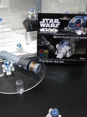 《星際大戰》R2-D2 超級迷你遙控機器人!