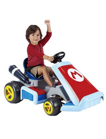 希望可以推出成人版的「超級瑪利歐電動賽車」!!