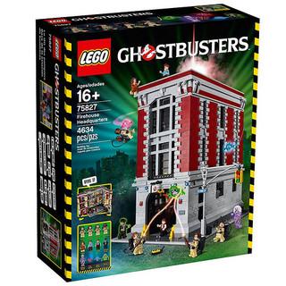【完整官圖更新】LEGO® 75827【魔鬼剋星:總部基地】Ghostbusters Firehouse Headquarters