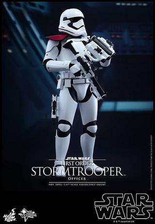Hot Toys – MMS335 – 星際大戰七部曲:原力覺醒【帝國暴風兵。小隊長組合包】1/6 比例 First Order Stormtrooper Officer Set
