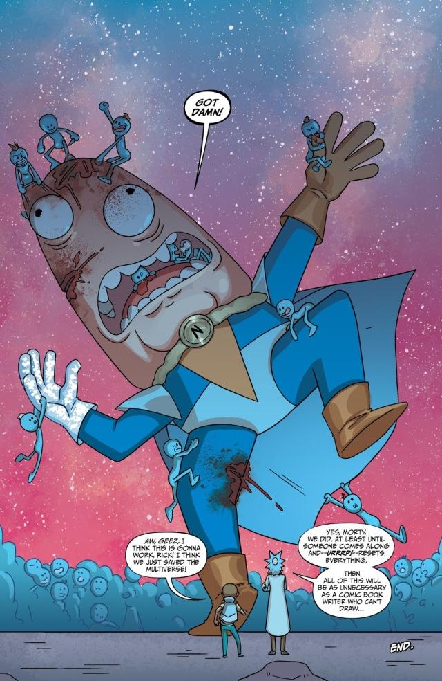 什麼!!!!無限寶石居然也入侵了《瑞克和莫蒂》的宇宙了?