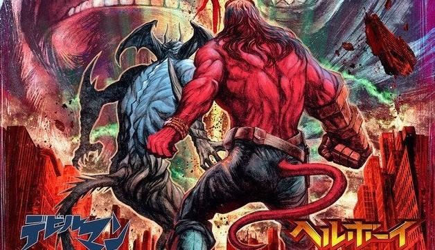 日本為宣傳《地獄怪客:血后的崛起》的上映而推出「惡魔人與地獄怪客」合作海報!