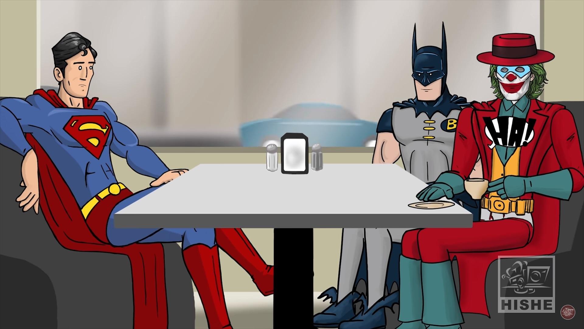 《小丑》的 HISHE 該如何完結影片公開:收蝙蝠俠當跟班成為高譚市的新守護者!?