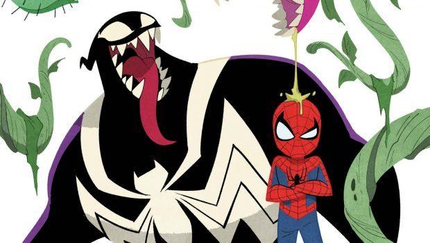 要是今天蜘蛛人與猛毒是室友呢?值得入坑的可愛畫風漫威故事大推薦!