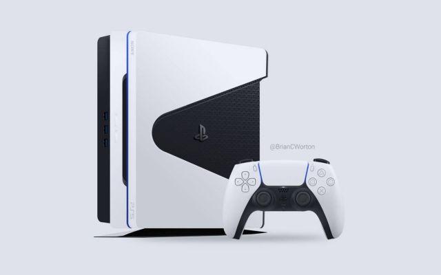 索尼 DualSense 的雙色設計,引發了玩家們對新世代主機外型的模擬設計
