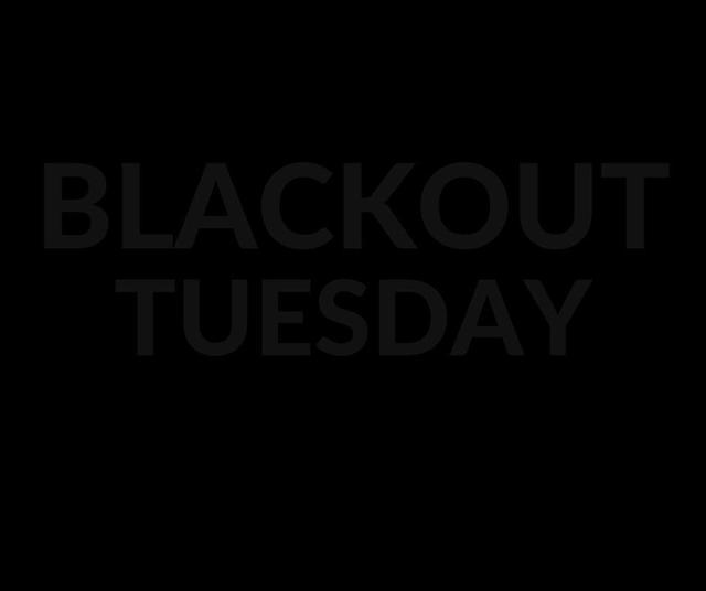 推特、IG 充斥黑色版面   美國演藝圈透過「Blackout Tuesday」來表達維護黑人族群